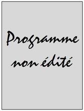 Programme  Saint Etienne-PSG  2015-16