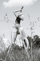 Haare & Make-up / Schülerin: Elena D. | Model: Helena | Agency: JAVA Model Management | Produktion: bloos Make-up & Hair Academy | Foto: Markus Thiel