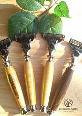 Le Bois de Maffé - Rasoirs en bois tourné