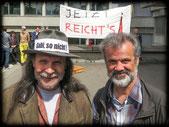 Demo Gys Feldkirch 29.04.15 gegen Arbeitszeiterhöhung