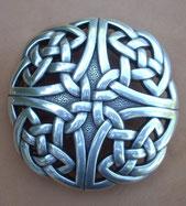 Boucle celtique finition argent