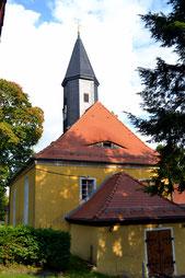 Bild: Teichler Arnsdorf Kirche Seeligstadt 2017