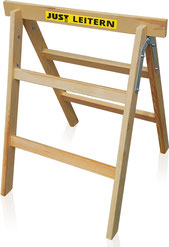 13-001 Folding Wooden Sawhorse