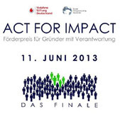 Logo Act for Impact 2013