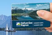 Zell am See Kaprun Card bei Appartement Lingner in Kaprun