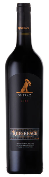 Ridgeback Shiraz – 2014 Der Ridgeback Shiraz 2013 hat intensive Aromen nach Sauerkirschen, süßen roten Früchten, Lakritz und schwarzem Pfeffer. Eleganter Körper mit gut eingebundenen Tanninen und einem langen saftigen Abgang. Reichen Sie ihn zu Steak, Sch