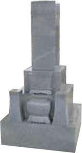 W-001 9寸石塔