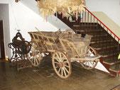 Alter Erntewagen aus Holz