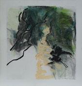 30.5.12 2012 30,5 x 30 cm Öl / Papier