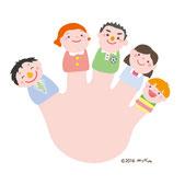 人物・家族のイラスト
