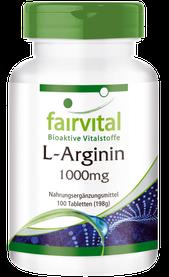 23,95 EURO - L-Arginin 1000mg - 100 Tabletten