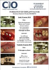 Formation implantologie dentaire CIO marseille paca Dr Moheng