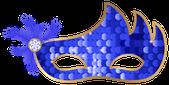 ニースカーニバルの仮面