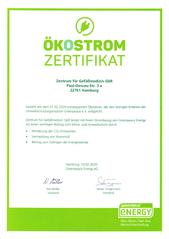 TUV Nord Zertifikat