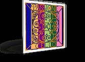 Струны для виолончели PASSIONE на жильной основе изготовлены в процессе ручной работы. Разнообразный спектр звуковых красок.
