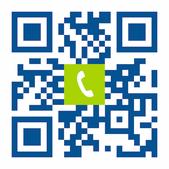 Telefonnummer der Zahnarztpraxis DDr. Peter Kapeller MSc in Bregenz: Einfach scannen und anrufen!