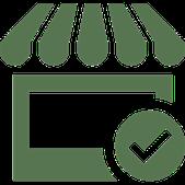 icone représentant une boutique
