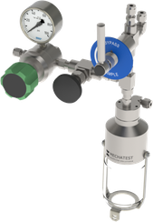 Liquid sampling - MBS-A5 Needle Purge Liquid Sampler Configuration - Mechatest Bottle Sampler - closed sampling Dopak DPM