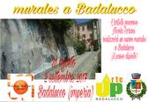 Realizzazione di un nuovo murales a Badalucco il paese dipinto. Agosto 2017