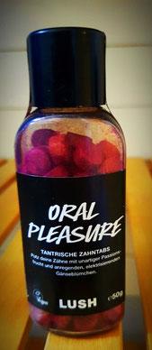 Feste Zahnpasta und feste Mündspülung von LUSH: frisch und handgemacht