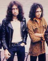 左:ポール・ロジャース、右:アンディ・フレイザー