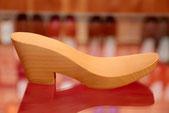 Semelle compensée modèle Victoria pour sabot d'été et sandales talons bois
