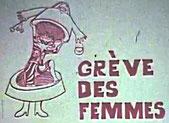 Affiche : grève des femmes