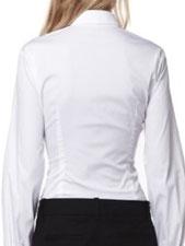chemise cintrée par pinces