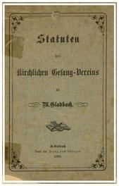 Statuten von 1884