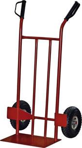 Professionelle Sackkarre für den intensiven Gebrauch. Auch mit unplattbaren PU-Rädern erhältlich, bei Kruse Gartentechnik in Petershagen.