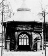 Das Brunnenhaus 1885
