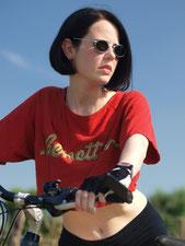 Ravienne Art Model - Foto, Fahrrad, Sonnenbrille, Sport