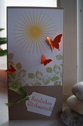 Kinda Eclectic - Geburtstagskarte DIN lang 2015