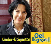 Gonnie Klein Rouweler, etiquette expert, Oei ik groei, Etiquette kinderen