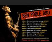 Ben Poole, derzeit gut unterwegs auch in Deutschland (Foto: Florence Miller)