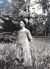 Wilhelmine Freckmann (vielleicht in Marburg)
