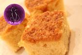 Kokos Mandel Blechkuchen mit Sahne und Buttermilch