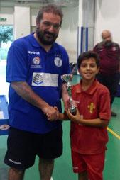 Riccardo Natoli vincitore cat. Under 12