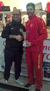 Gianluca Giliberto vincitore cat. Cadetti