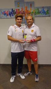 Andrea Giorgianni vincitore Cadetti Esordienti