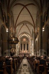 Der Innenraum der Basilika St. Margareta (Foto: Marcus Pietrek)