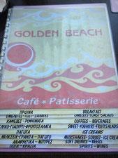 Golden Beach Restaurant auf NAXOS.