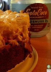 Rezept für Apfel-Beeren-Käsekuchen mit SoloCoco Kokosöl und Kokosmehl.