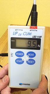 口唇閉鎖力計測器