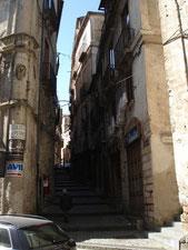 kleine Gasse in Cosenza, Kalabrien, Calabria