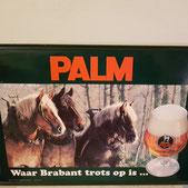 Palm bier reclamebord