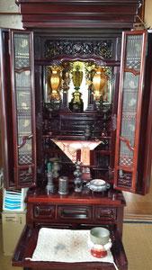 仏壇の運送 神戸から