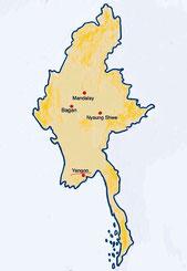 Myanmar - Yangon - Weltreise Blog und Reiseziele - Travel um die Welt