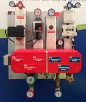 Fernwärme Übergabe Station günstiger als die eigene Heizung abhängig von den Brennstoffkosten