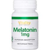 Melatonin 1mg von Vitality Nutritionals